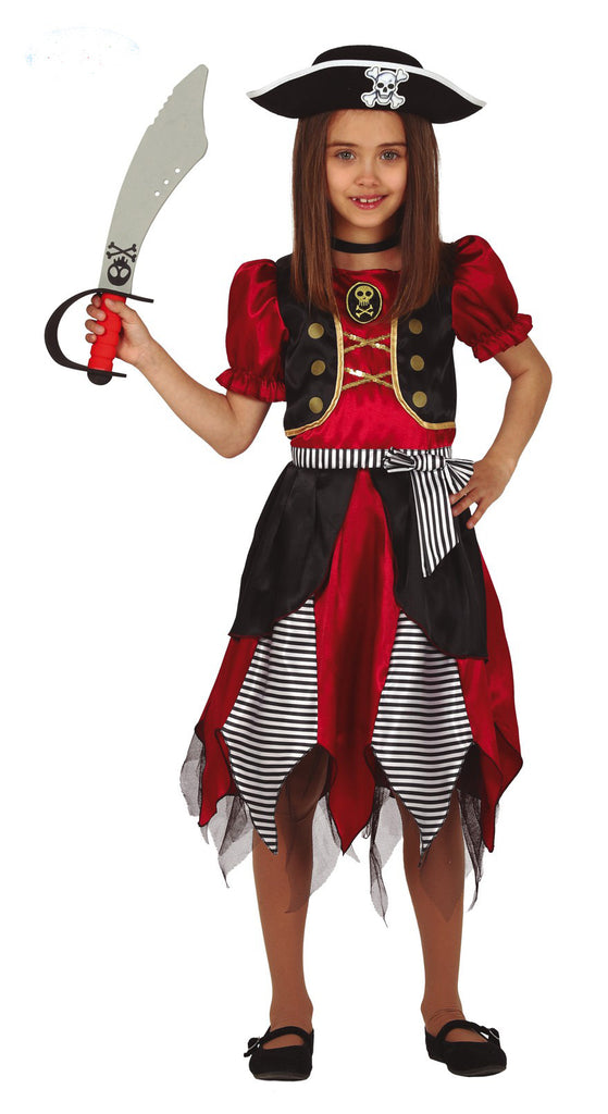 Kids Pirate Princess childs costume