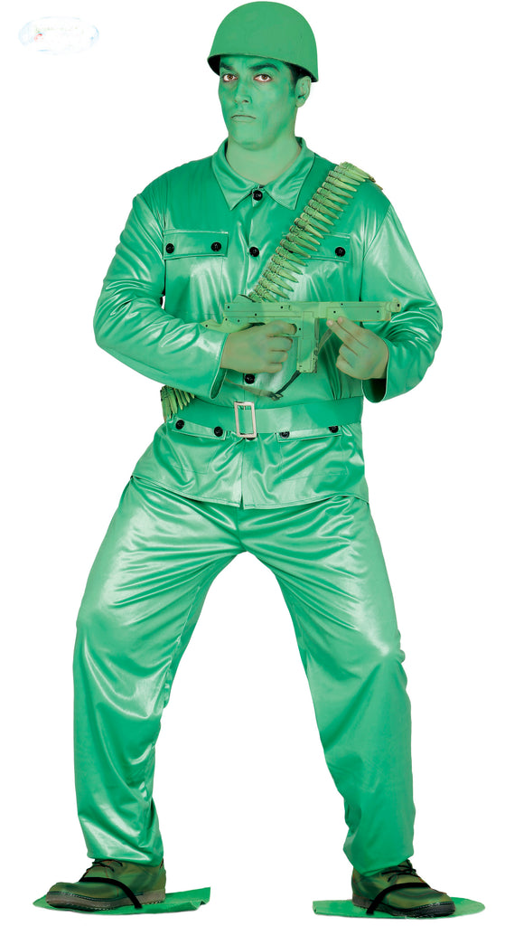 Men's Plastic Toy Soldier Costume Adult