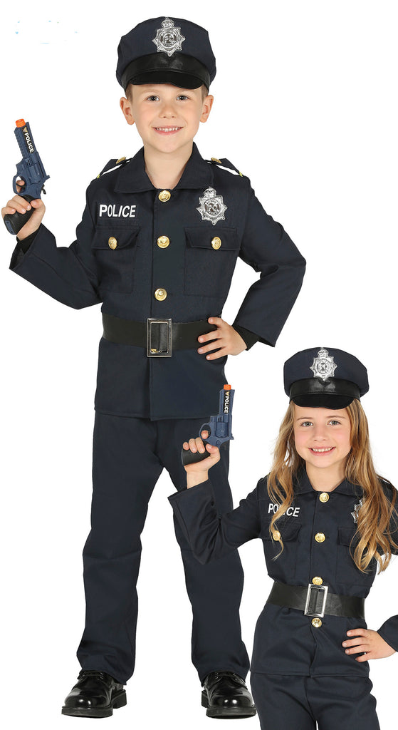Kid's dress up Police Man Or Policewoman New York Cop Costume