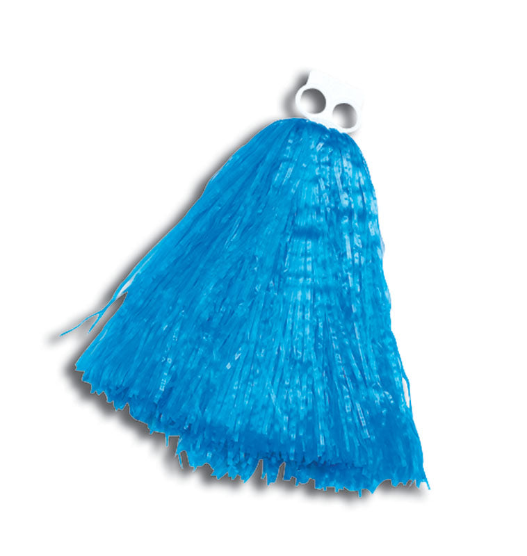 Cheerleader Pom Poms Blue Small