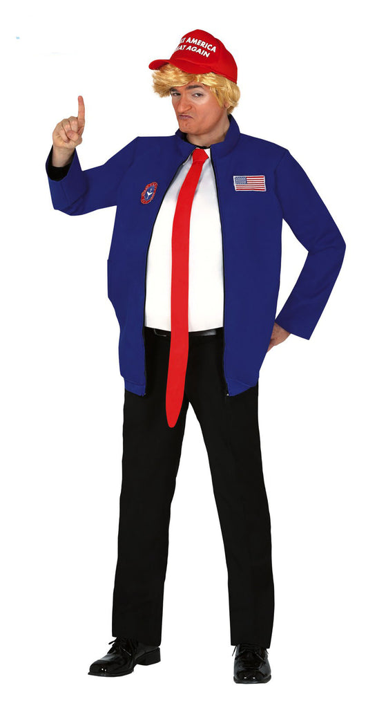 Adult President Trump fancy dress costume