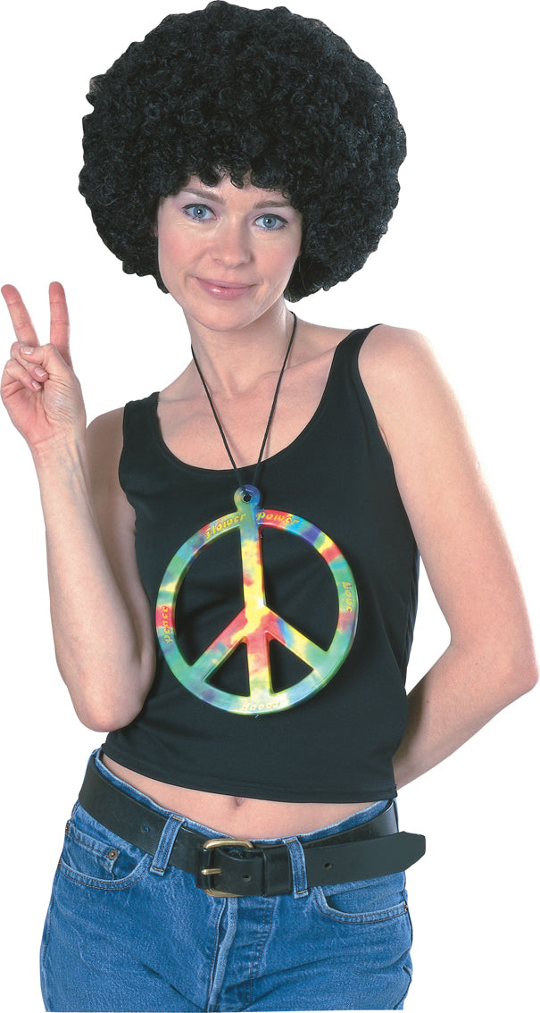 Psychedelic Peace Necklace