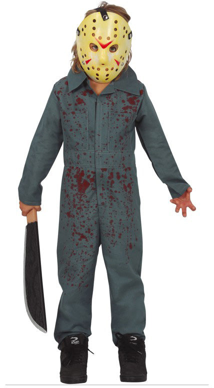 Children's Psycho Jason Costume from movie Friday the 13th
