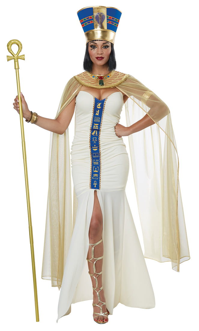 Bring Nefertiti back to life in our Queen Of Egypt Egyptian fancy dress Costume.