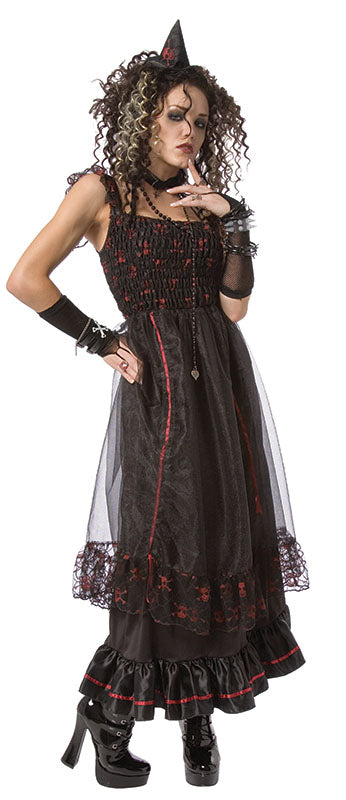 Red Spider Witch Halloween Costume