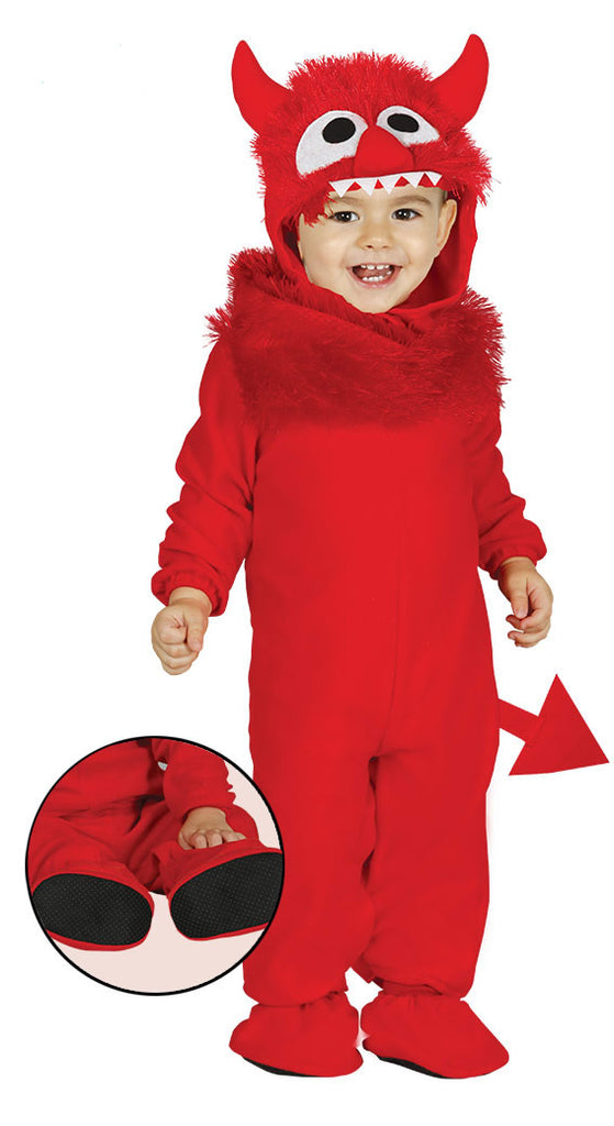Red Monster Devil Toddler Costume