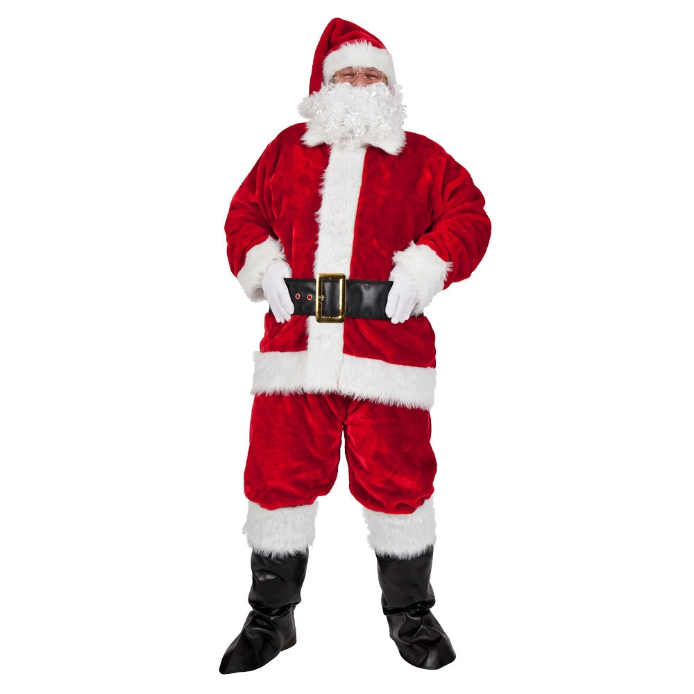 Regal Santa Claus 8 Piece Suit Or Costume