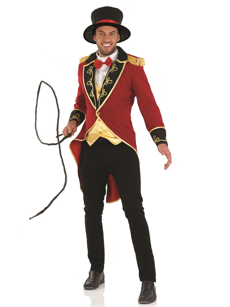 Men's Ringmaster Fancy Dress Costume