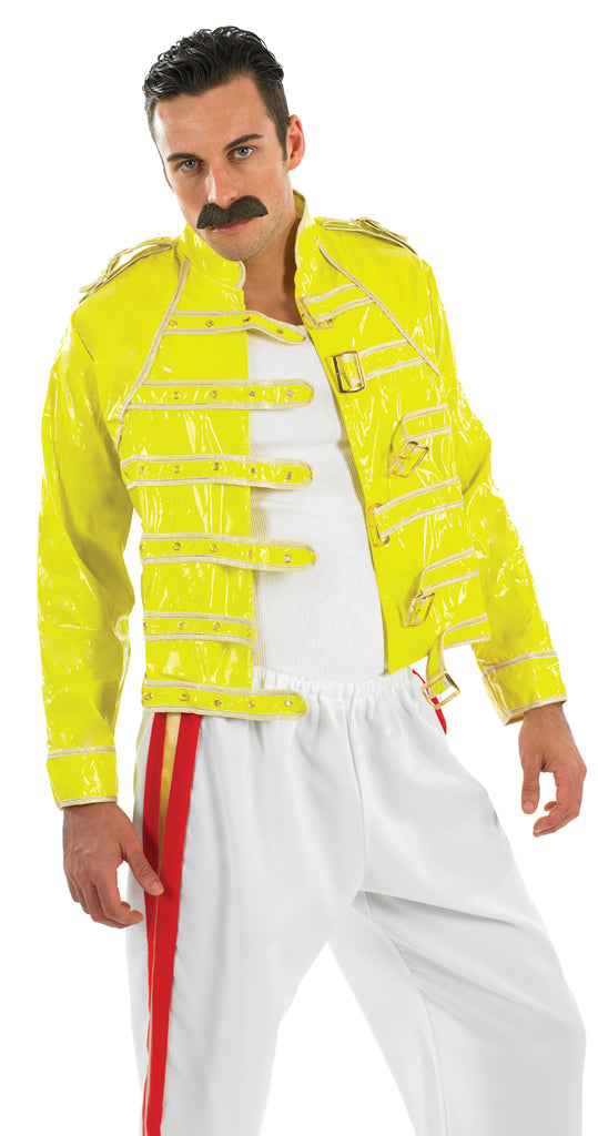 Freddie Mercury Rock Legend 80s Costume