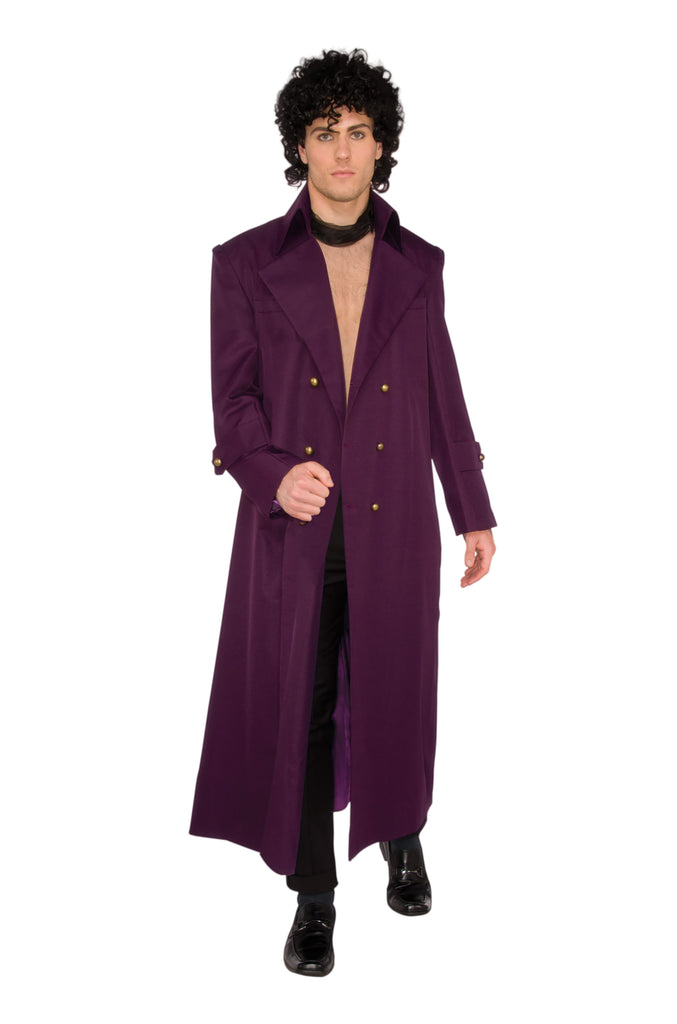 Men's Rock Royalty Prince fancy dress costume.