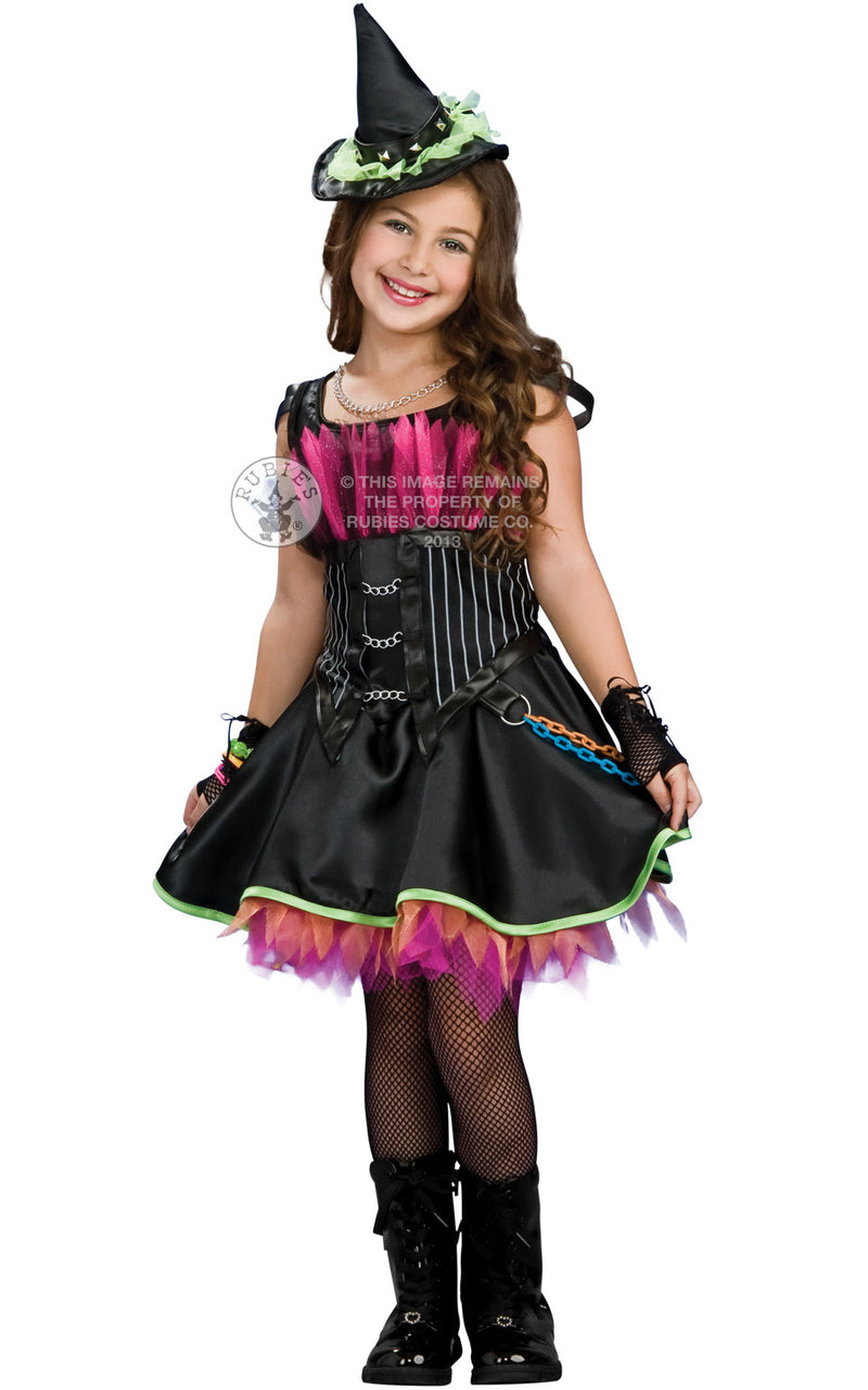 Rocking Out Witch Kids Costume