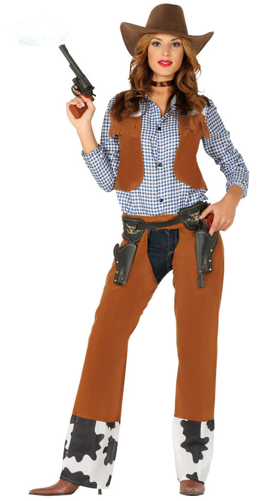 Rodeo Cowgirl Costume for Women