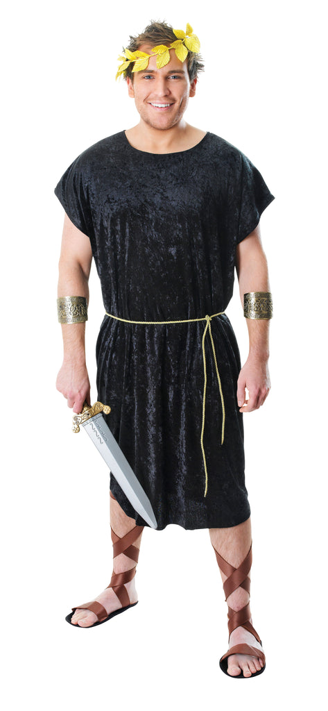 Black Tunic for Roman and Greek fancy dress costume.