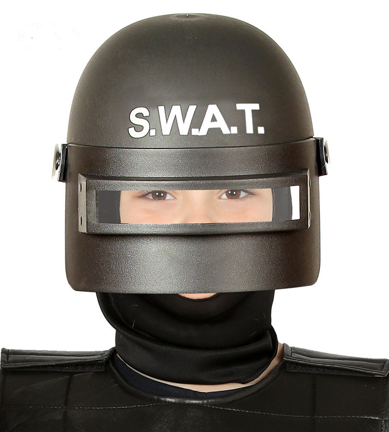 SWAT Riot Police Helmet for Kids