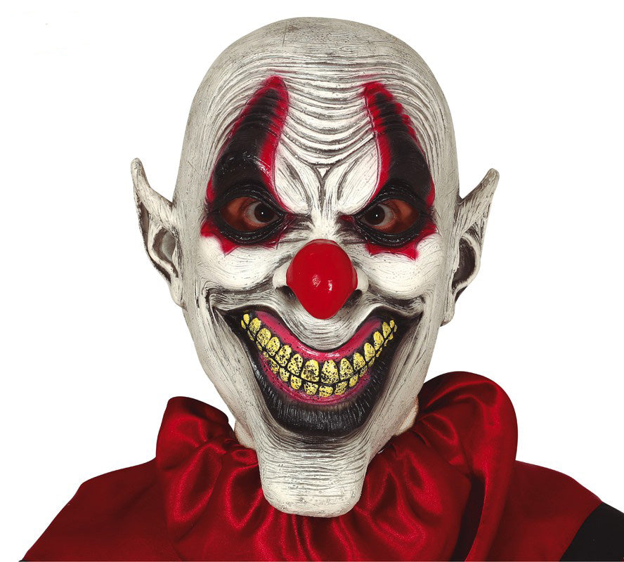 Sadistic Clown Mask Latex