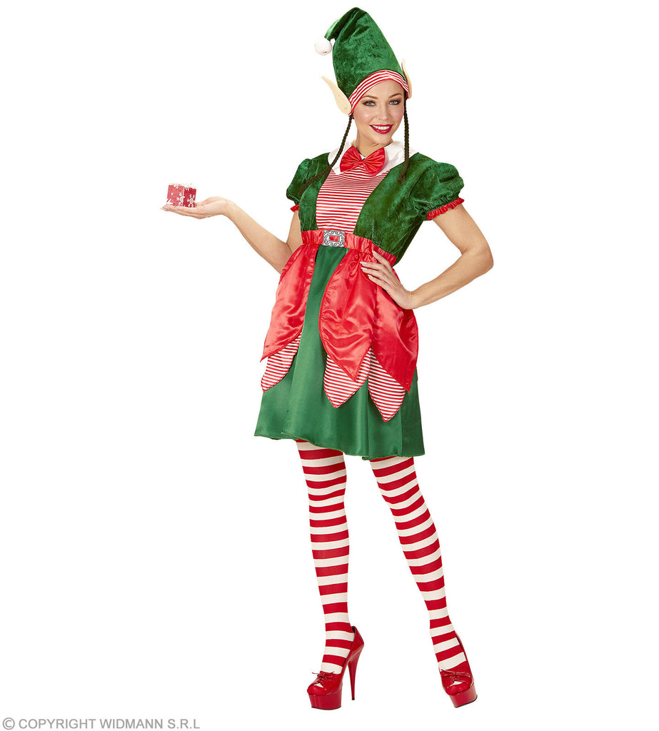 Santa's Little Helper Costume Ladies Christmas outfit