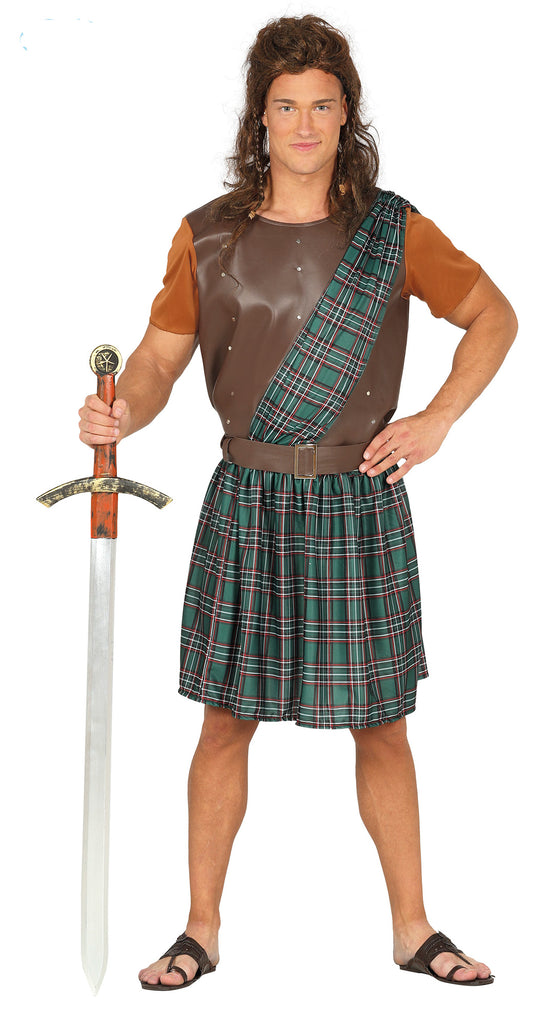 Scottish Warrior Costume Adult