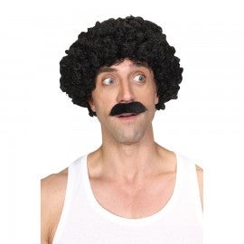 Scouser Guy Wig and Tash Set