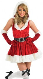 Sexy Lady Santa Christmas Fancy Dress outfit