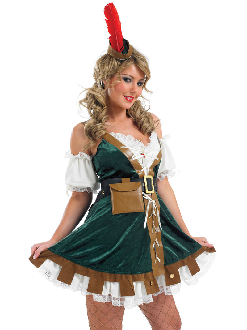Ladies Sexy Robin Hood outfit.