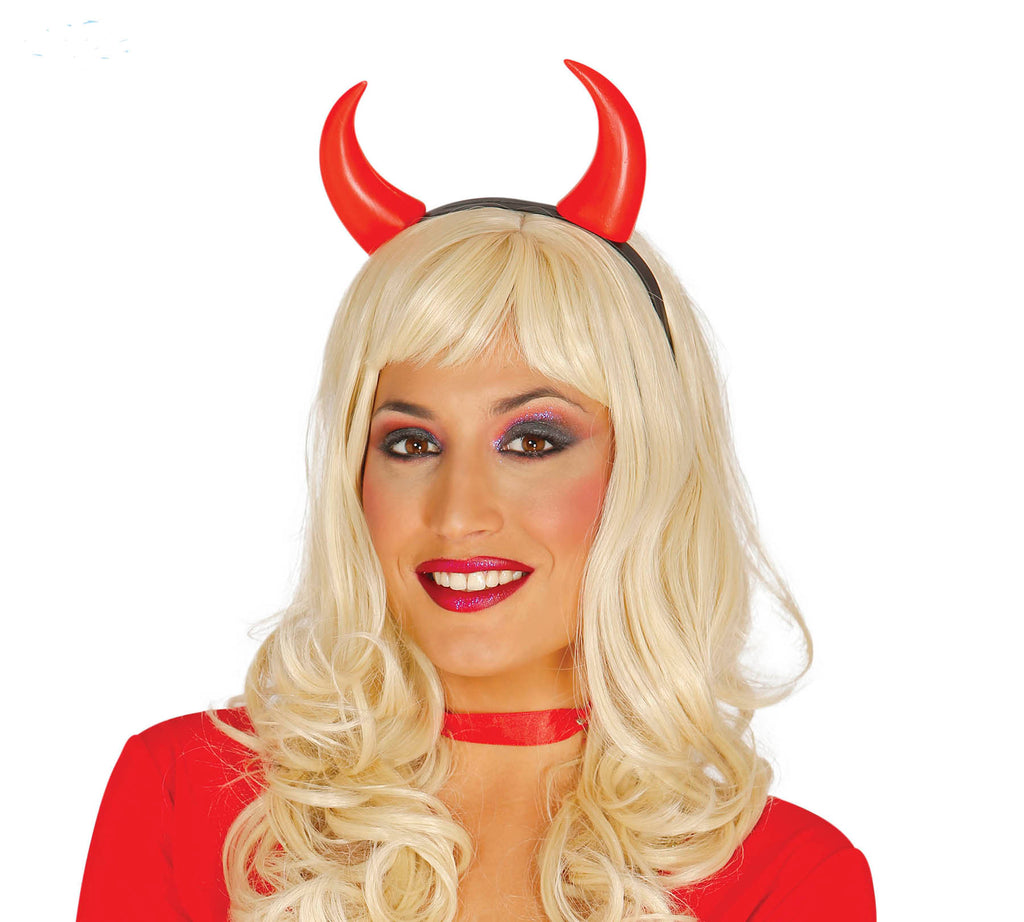 She-Devil Horns Headband