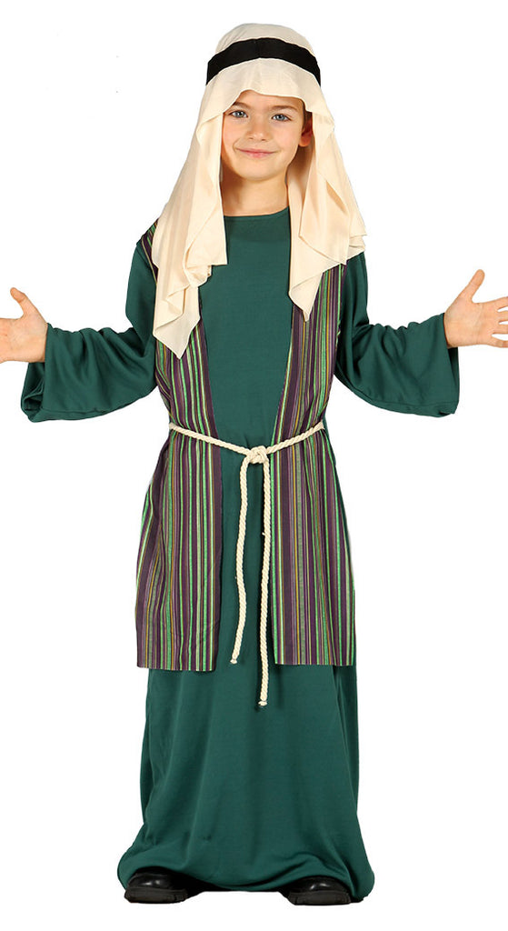 Shepherd or Joseph Costume Boys Green