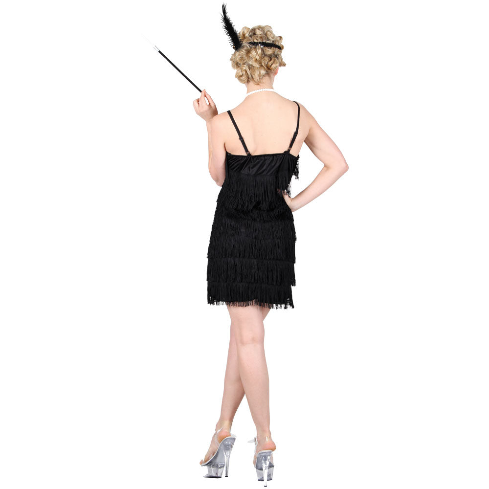 Showtime Flapper Girl Black