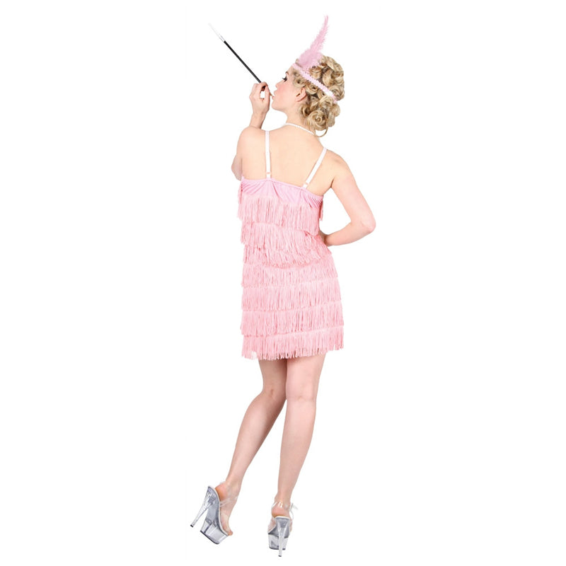 Showtime Flapper Girl Pink