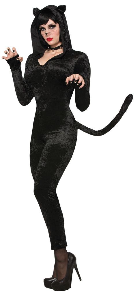 This Sly Kitty Cat costume is so soft and sleek, that'll you'll be ready to purr.