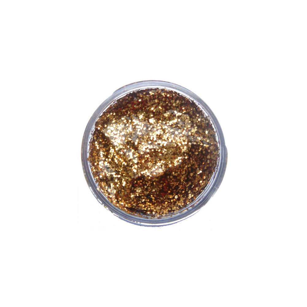 Snazaroo Red Gold Glitter Gel Face Paints
