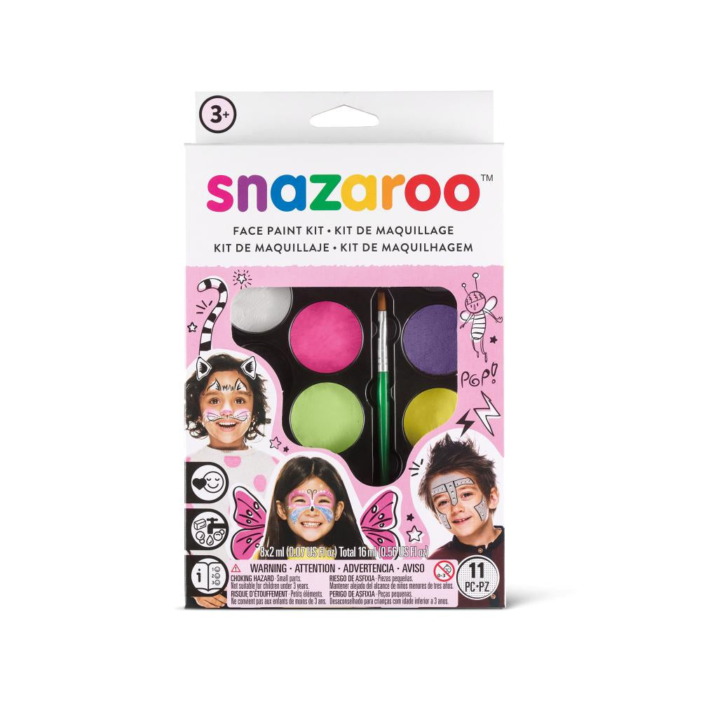 Snazaroo Fantasy Face Painting Kit