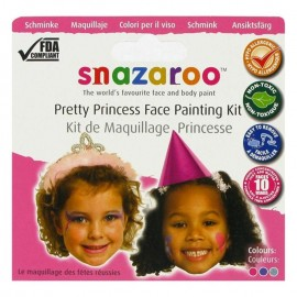 Snazaroo Pretty Princess Face Painting Kit
