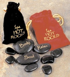 Spa Hot Rocks Gift Bags