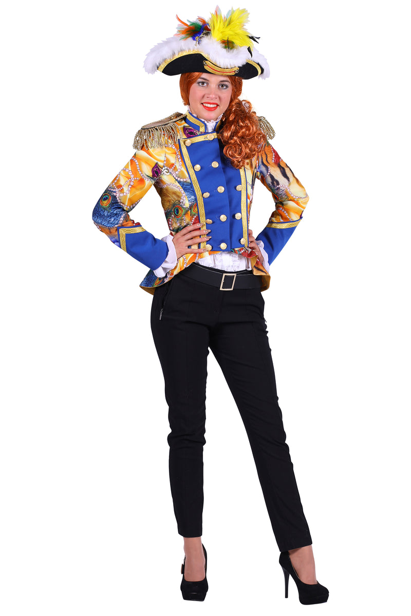 Spectacular Pearl Carnival Jacket Deluxe for women.