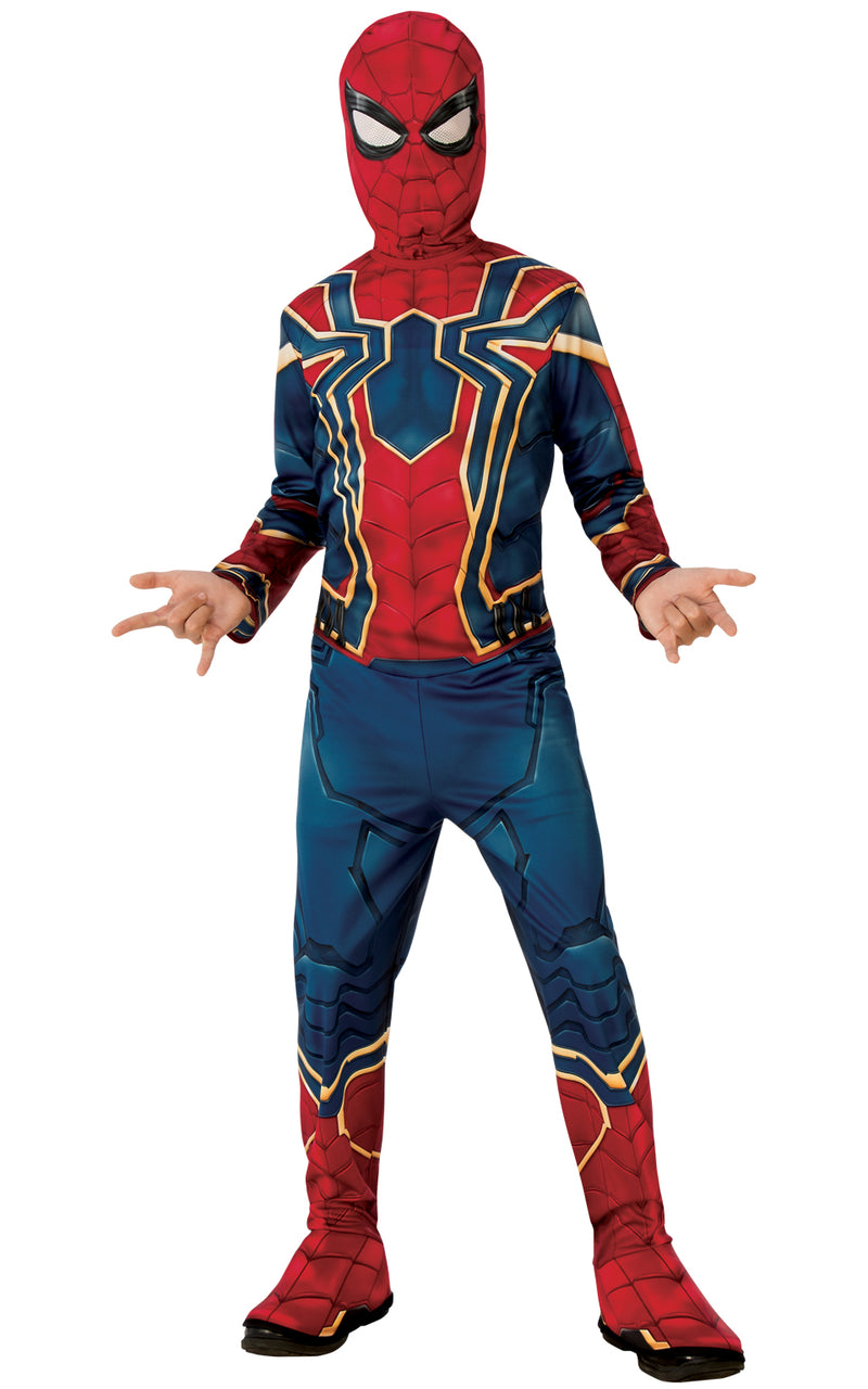 Boys Spider-Man Iron Spider Infinity War Costume