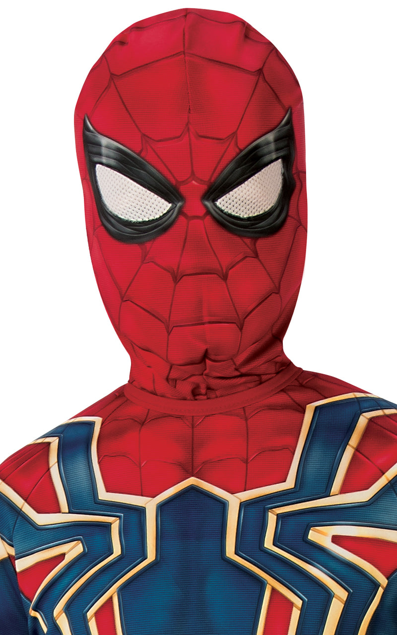 Spider-Man Iron Spider Infinity War Costume Boys