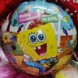 Spongebob Happy Birthday To You Foil Balloon