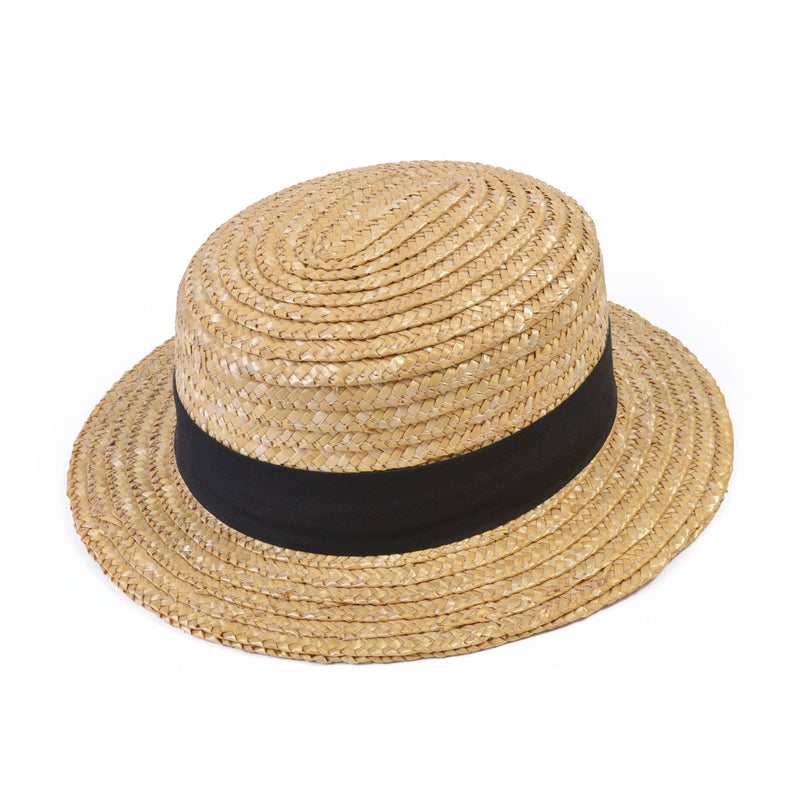 1920's Straw boater hat.