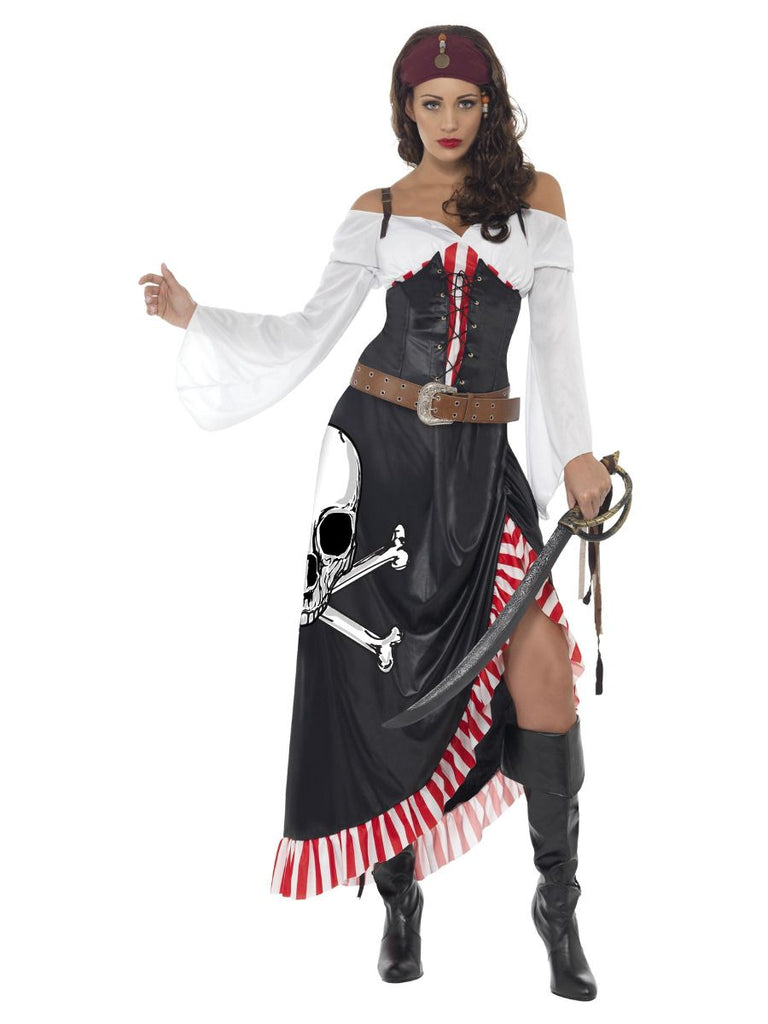 Sultry Swashbuckler Pirate fancy dress Costume for women