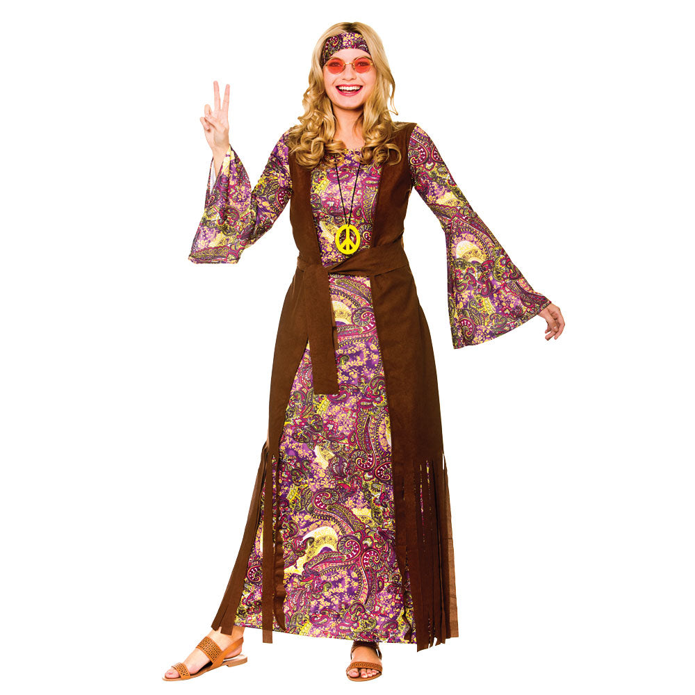 Summer of Love 1960's Hippie Costume for women