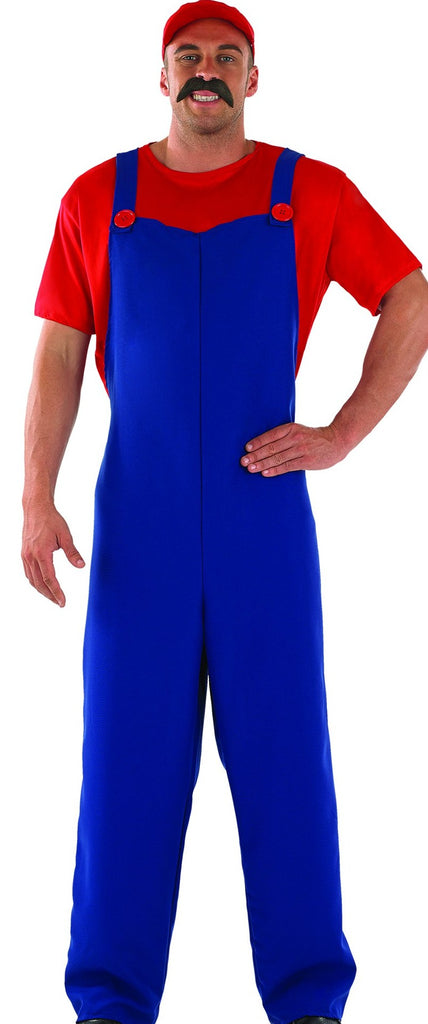 Super Mario Plumber Mate Fancy Dress Outfit