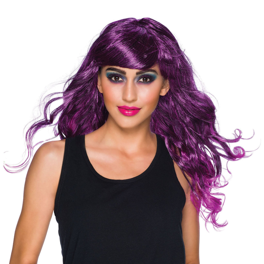Temptress Purple ladies Wig