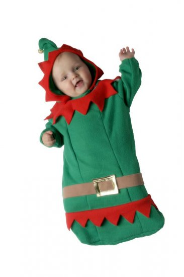 Toddler Elf Christmas Costume