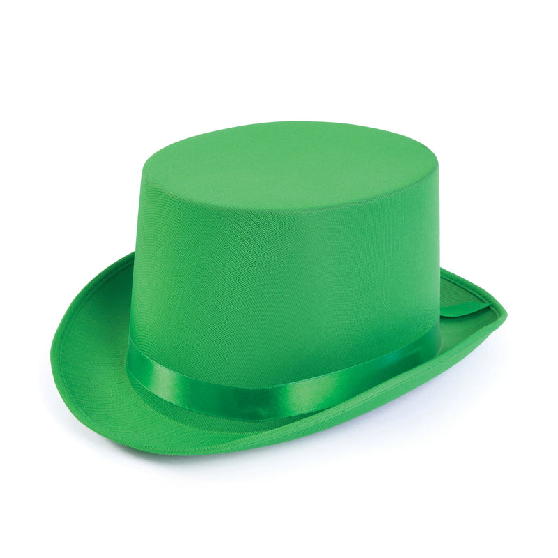 Green Top Hat with Satin finish