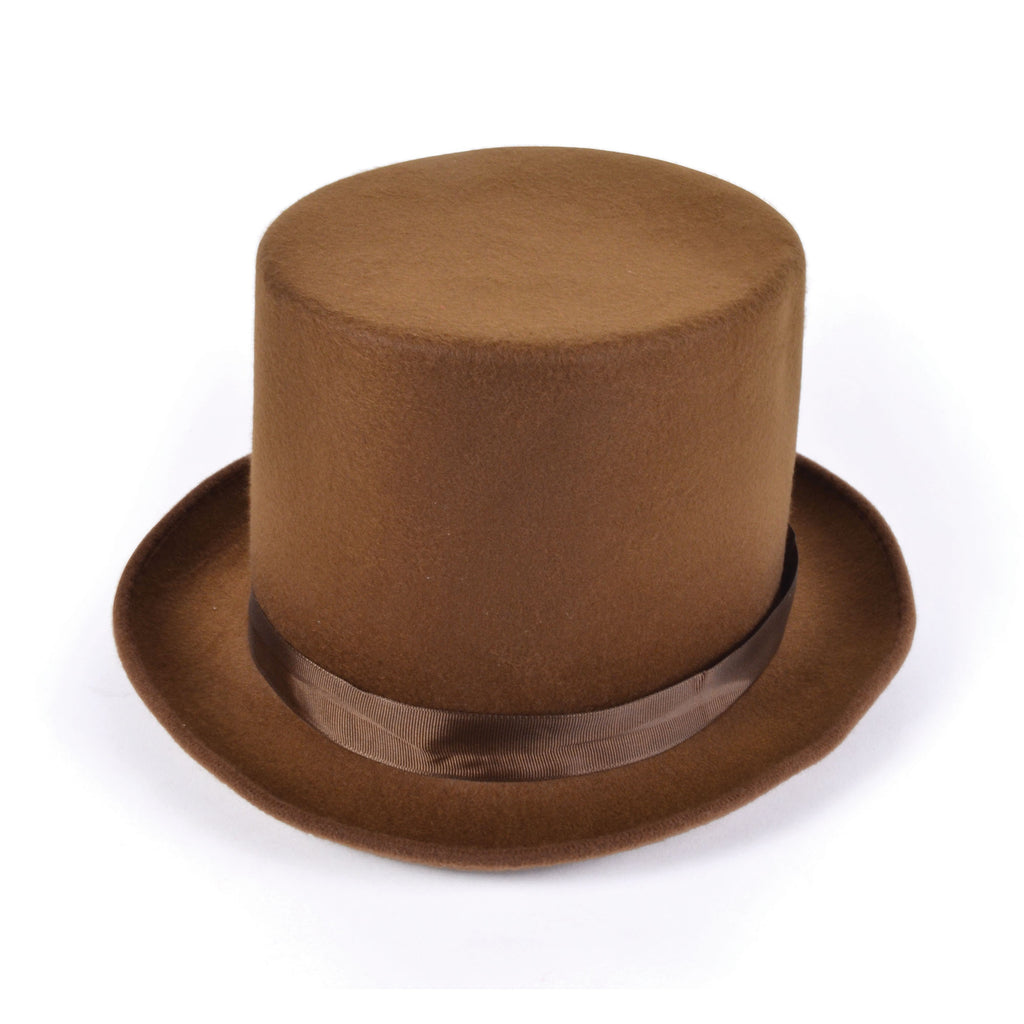 Top Hat Brown Wool Felt