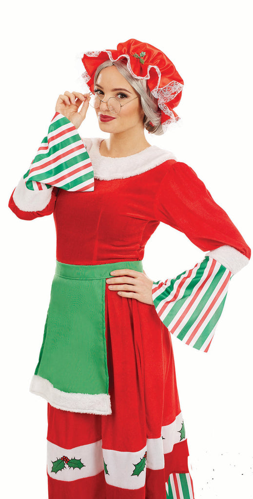 Traditional Mrs Claus Christmas Costume