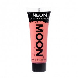 Moon Glow 12ml Pastel Neon Face Paint Coral