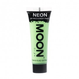 Moon Glow 12ml Pastel Neon Face Paint Green