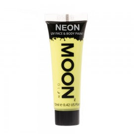 Moon Glow 12ml Pastel Neon Face Paint Yellow