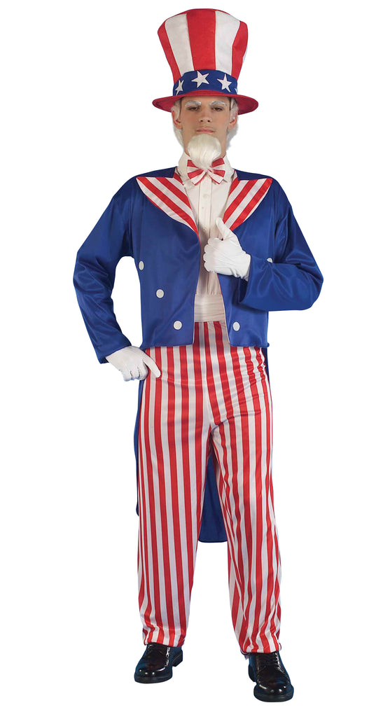 Uncle Sam Costume for 4th July American themed parties.